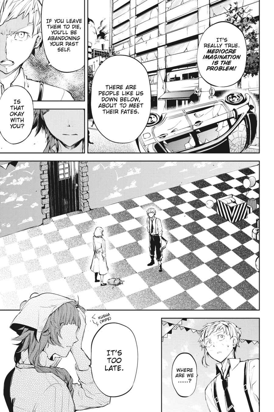 Bungou Stray Dogs Chapter 28 Page 27