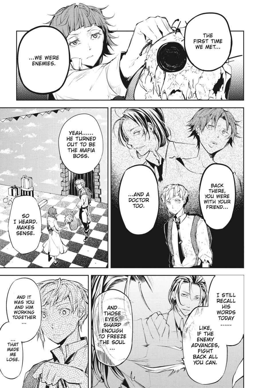 Bungou Stray Dogs Chapter 28 Page 33