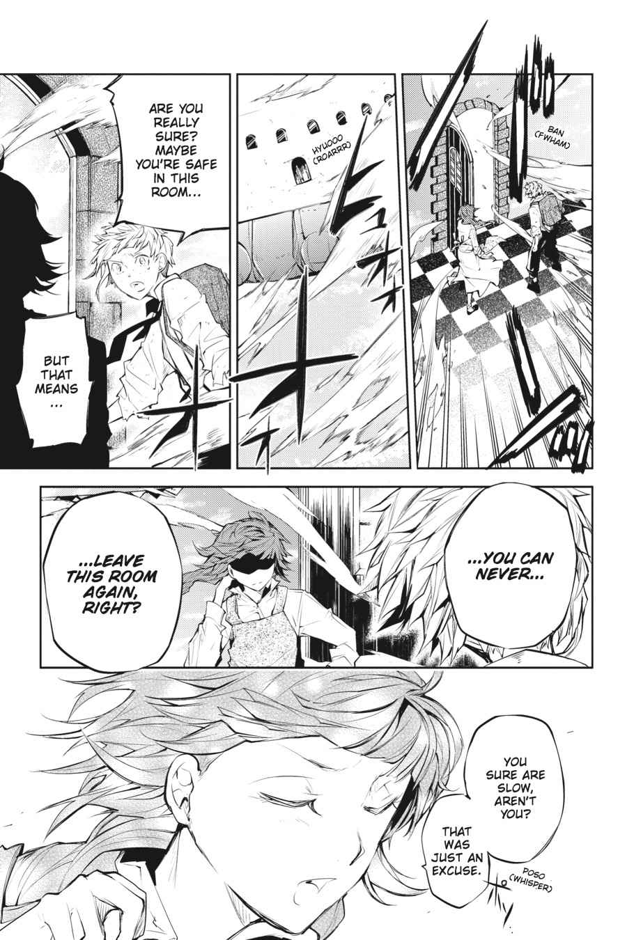 Bungou Stray Dogs Chapter 28 Page 35