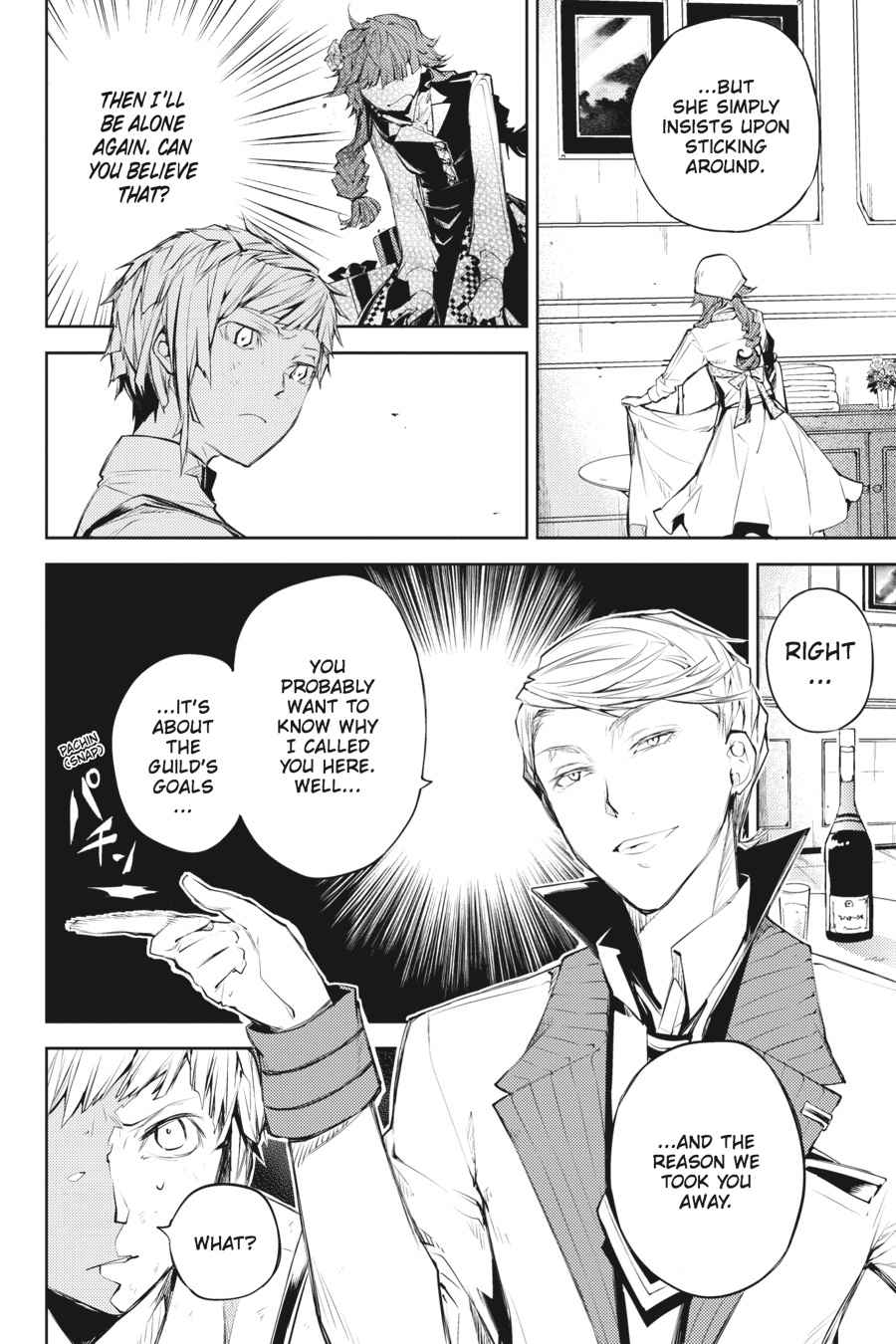Bungou Stray Dogs Chapter 28 Page 6