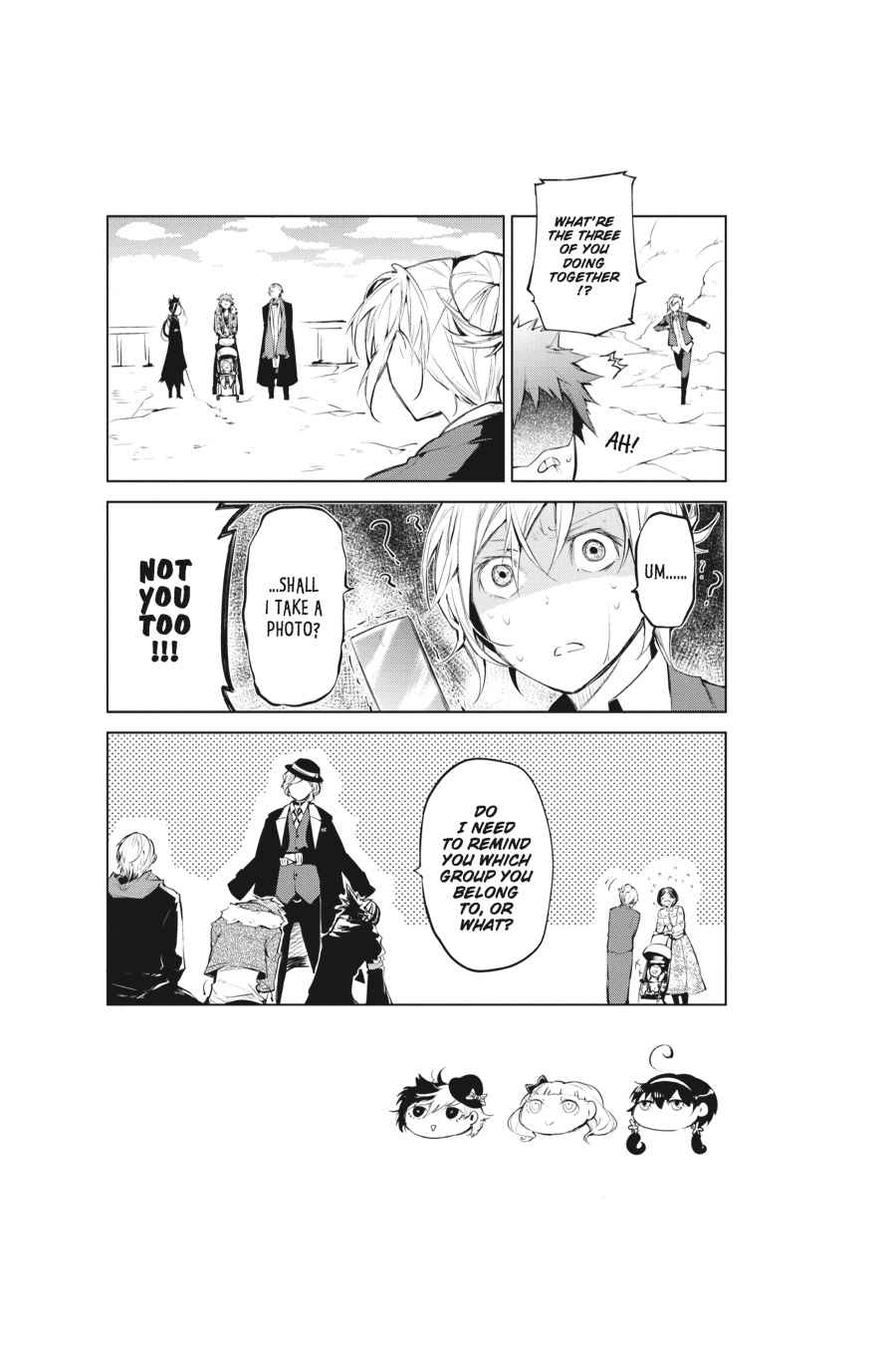 Bungou Stray Dogs Chapter 29 Page 43