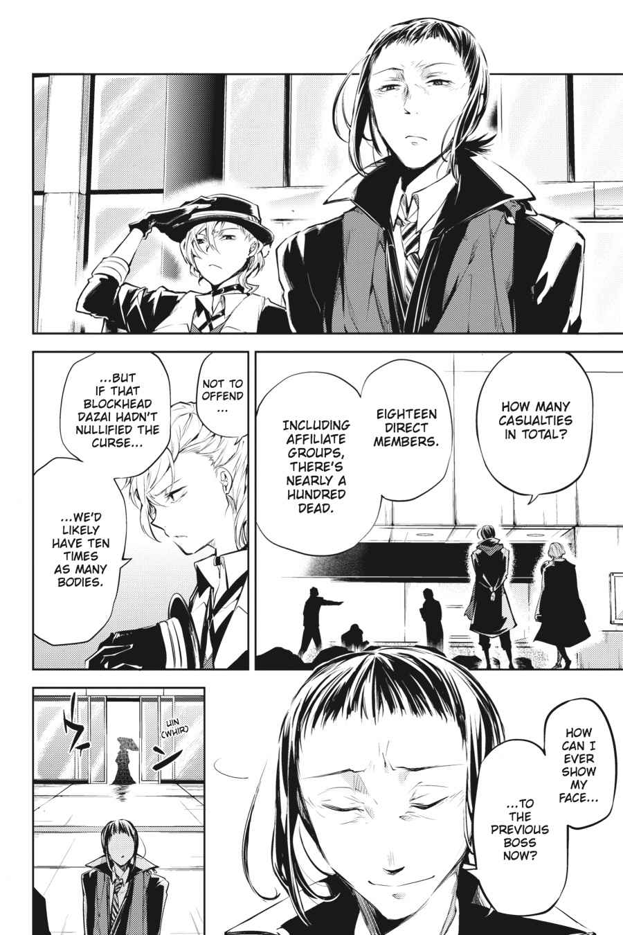 Bungou Stray Dogs Chapter 30 Page 10