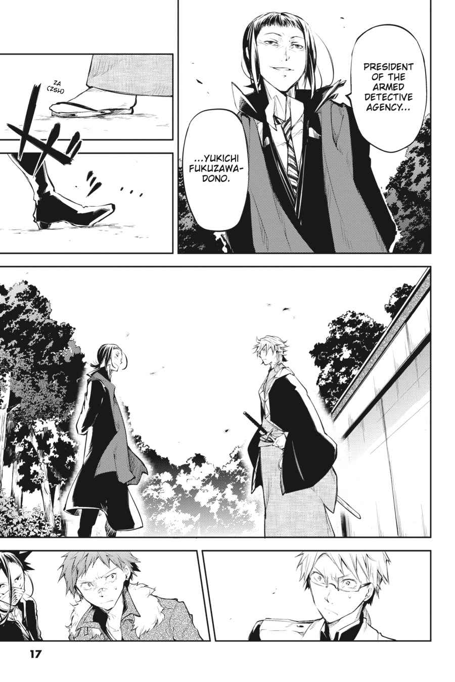Bungou Stray Dogs Chapter 30 Page 17