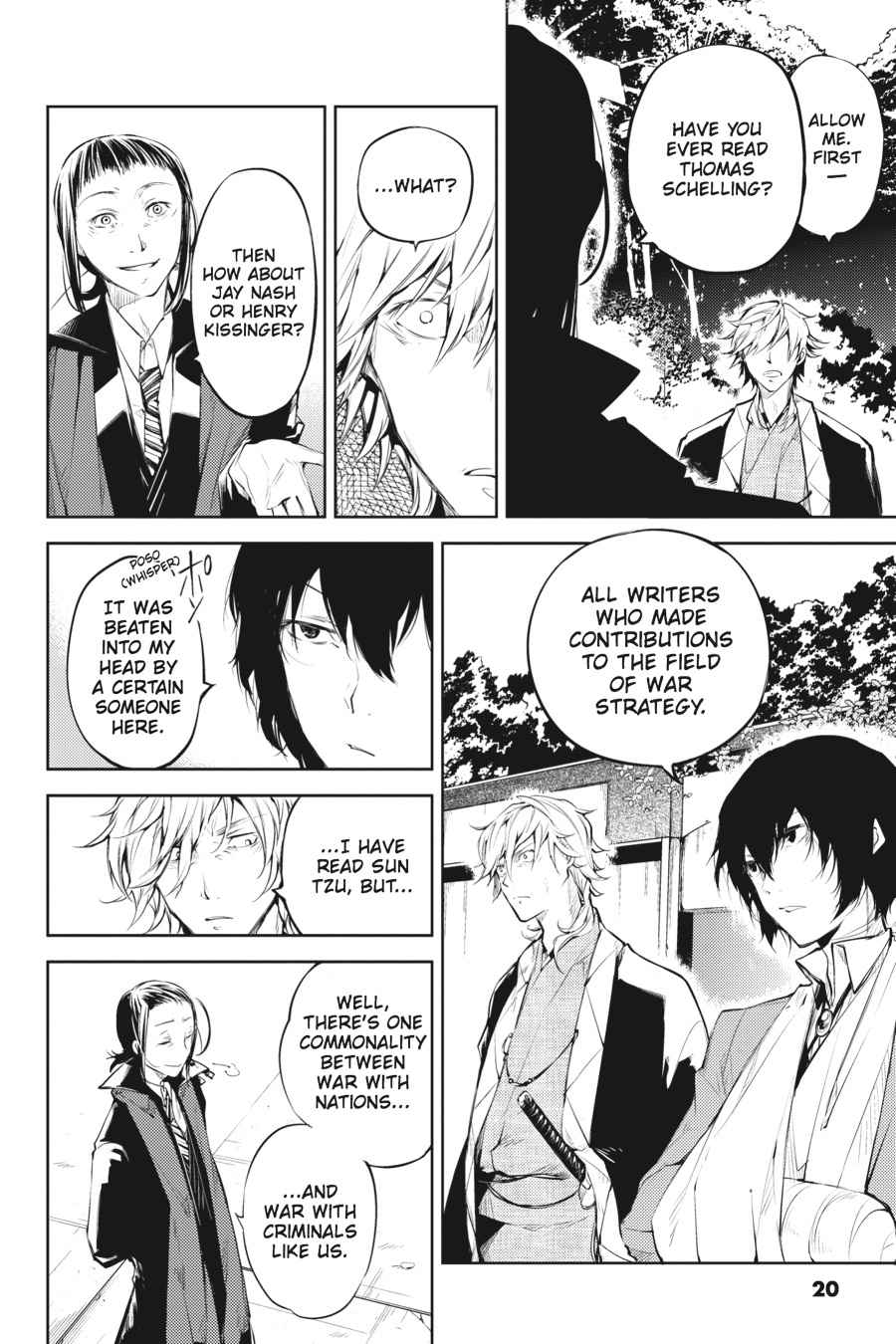 Bungou Stray Dogs Chapter 30 Page 20
