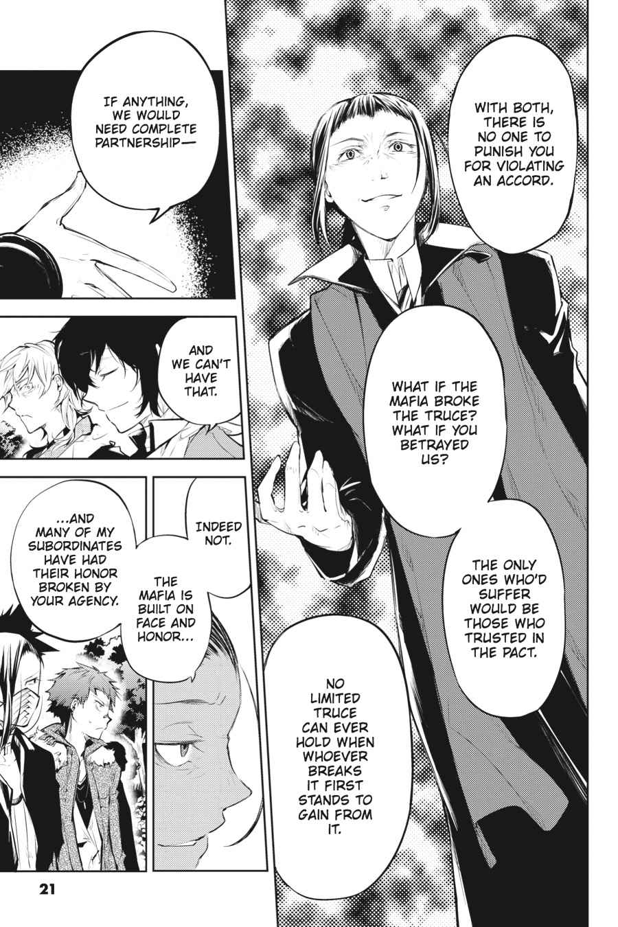 Bungou Stray Dogs Chapter 30 Page 21
