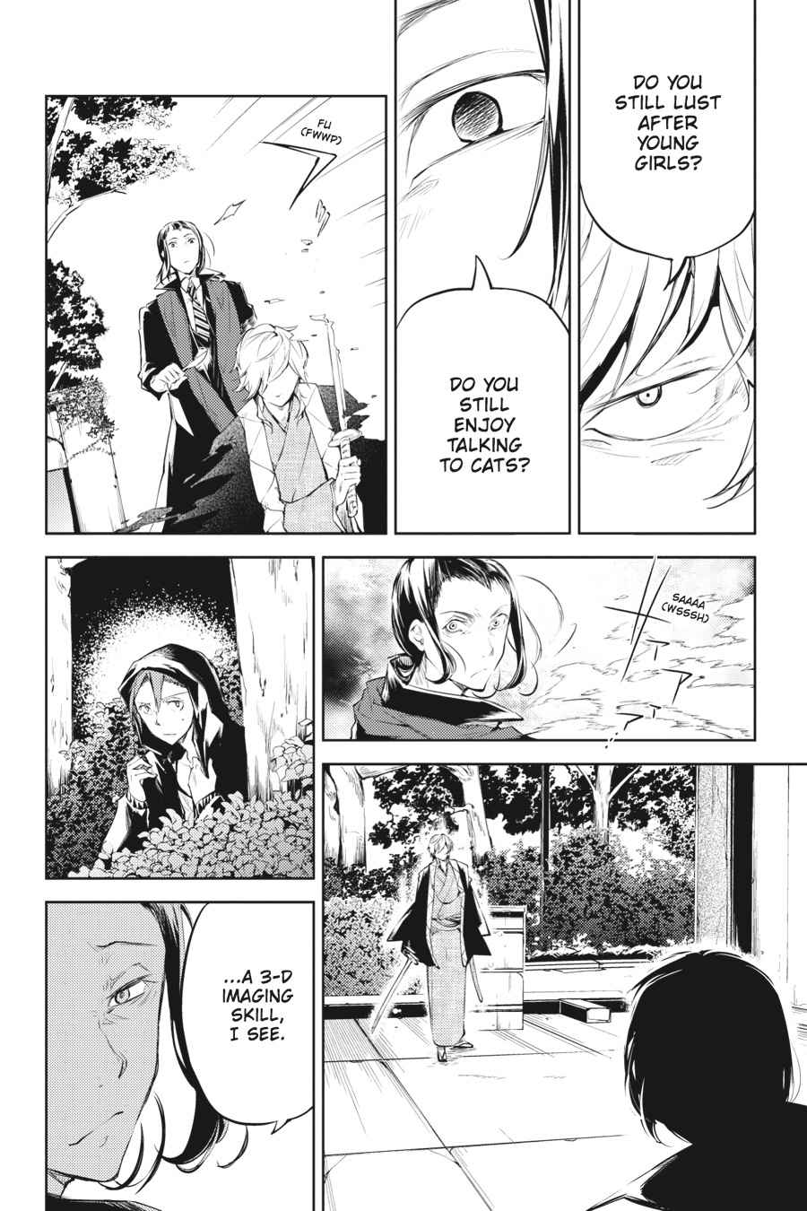 Bungou Stray Dogs Chapter 30 Page 25