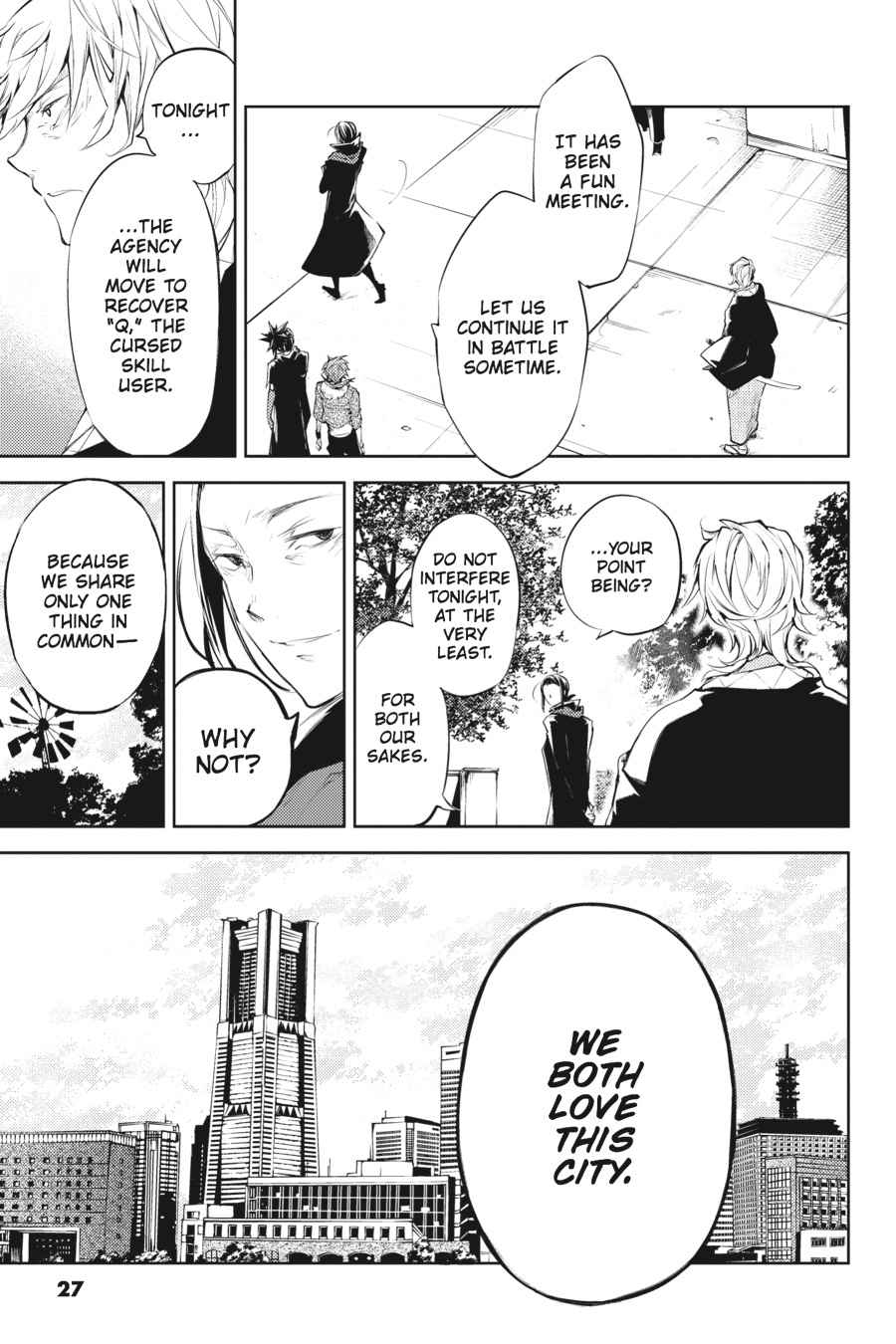 Bungou Stray Dogs Chapter 30 Page 26