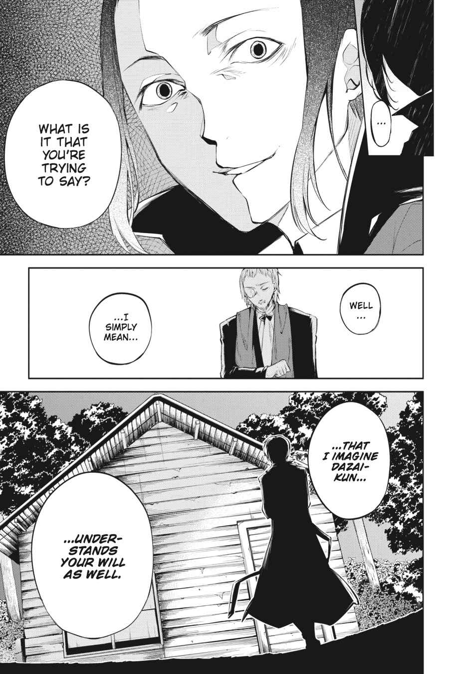 Bungou Stray Dogs Chapter 30 Page 32