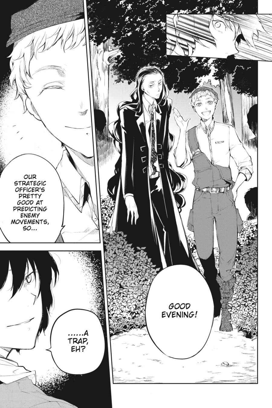 Bungou Stray Dogs Chapter 30 Page 34