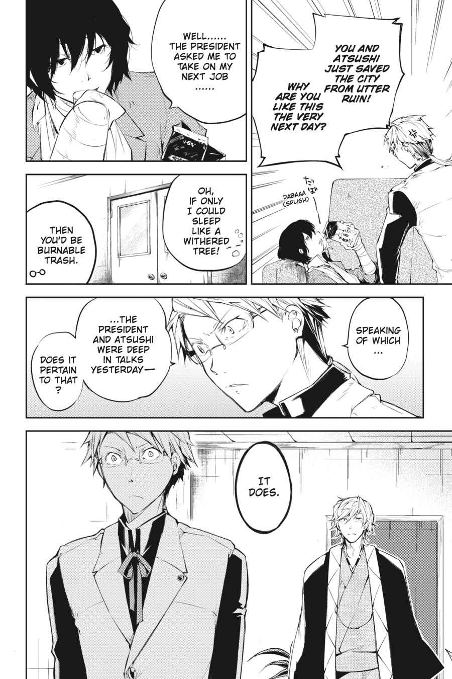 Bungou Stray Dogs Chapter 30 Page 6