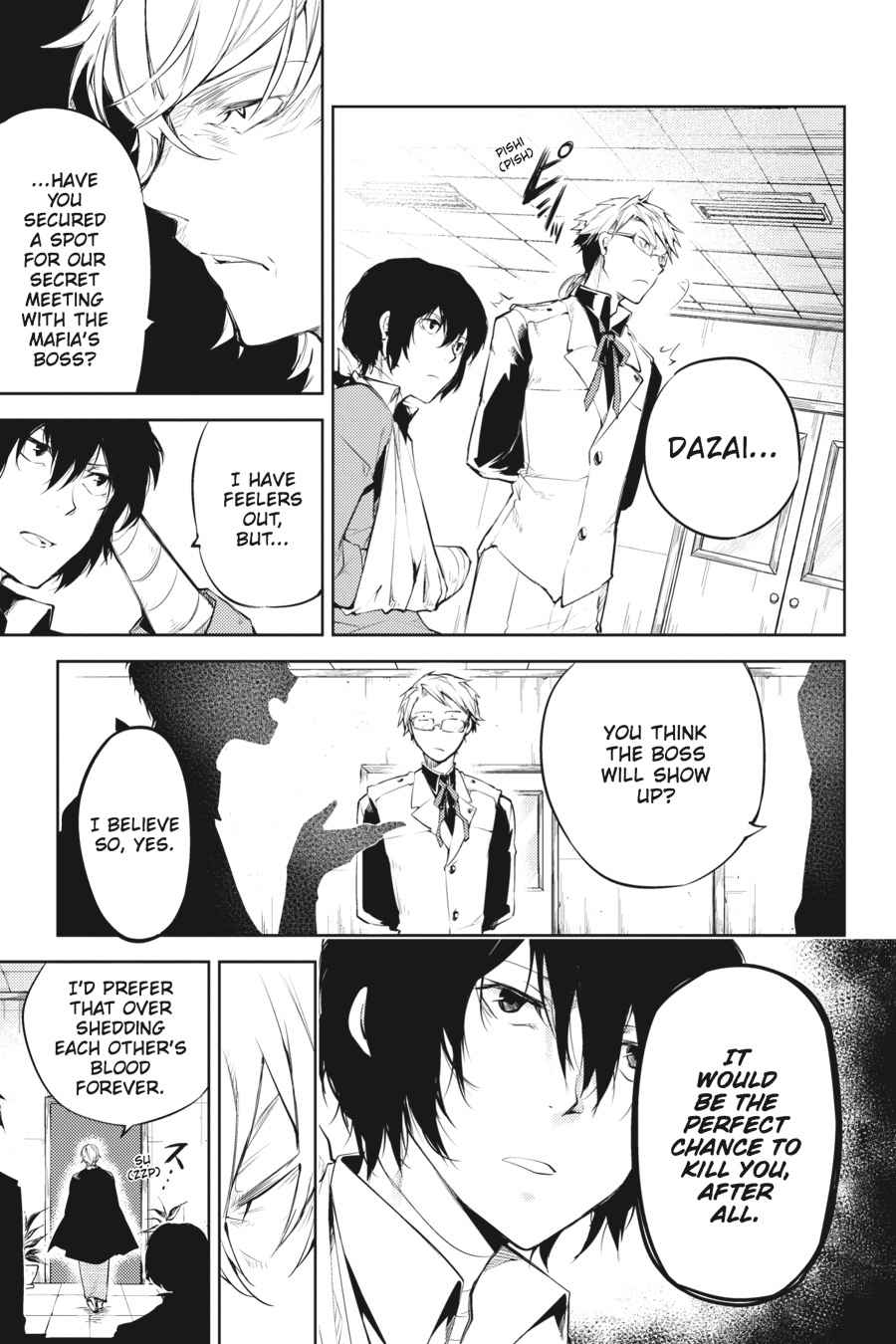 Bungou Stray Dogs Chapter 30 Page 7