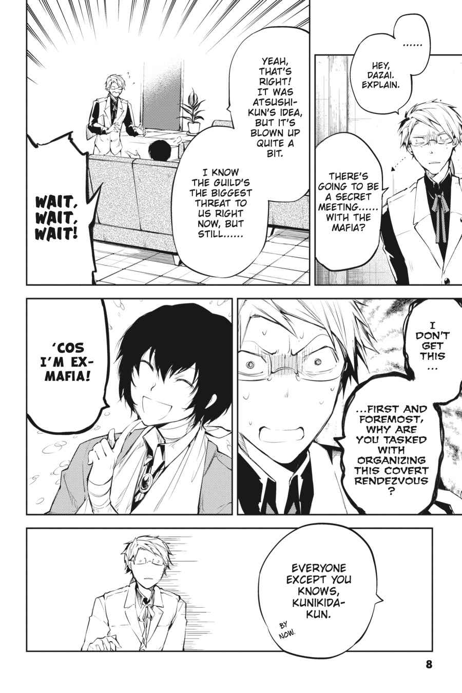 Bungou Stray Dogs Chapter 30 Page 8