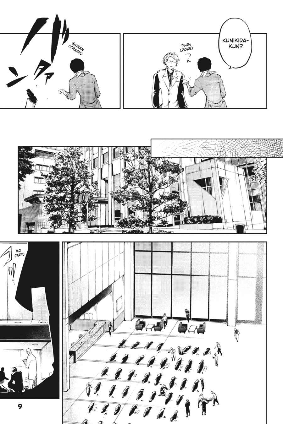 Bungou Stray Dogs Chapter 30 Page 9