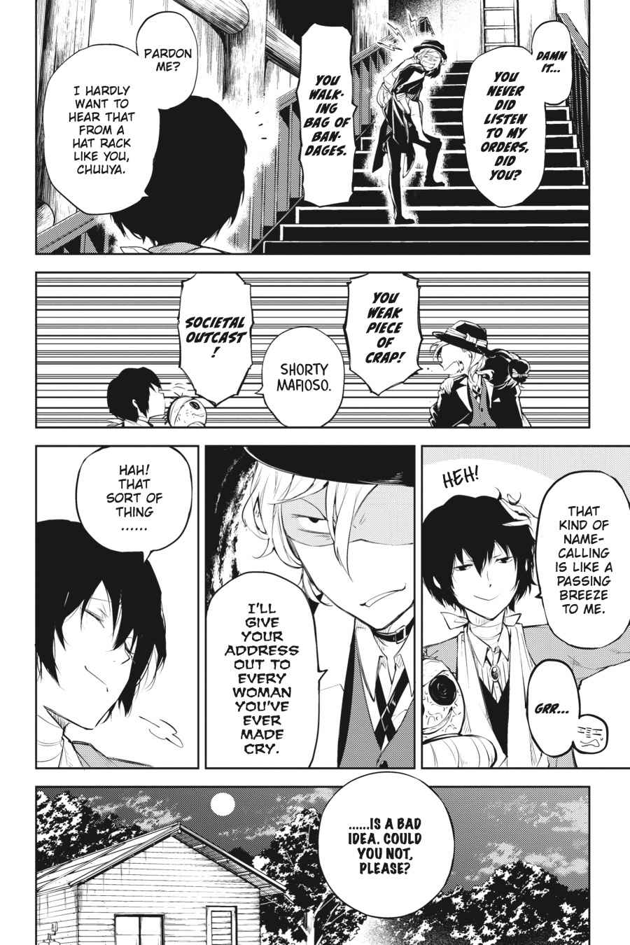 Bungou Stray Dogs Chapter 31 Page 10