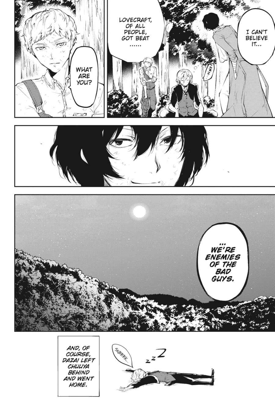 Bungou Stray Dogs Chapter 31 Page 46