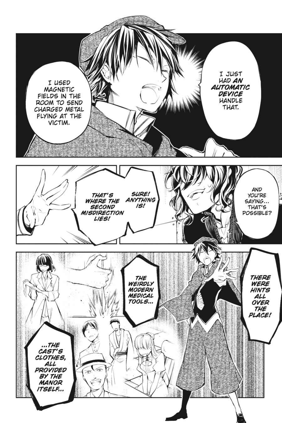 Bungou Stray Dogs Chapter 32 Page 41