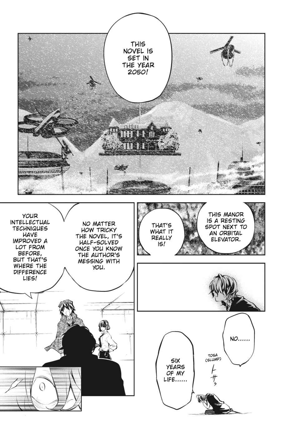 Bungou Stray Dogs Chapter 32 Page 42