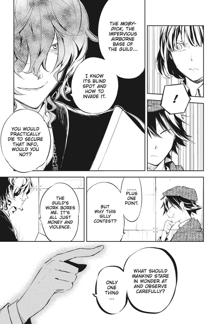 Bungou Stray Dogs Chapter 32 Page 9
