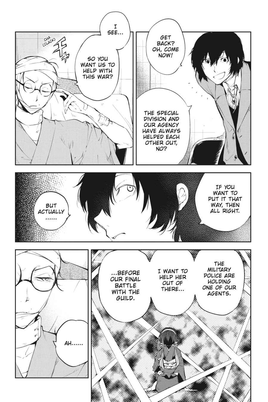 Bungou Stray Dogs Chapter 33 Page 11