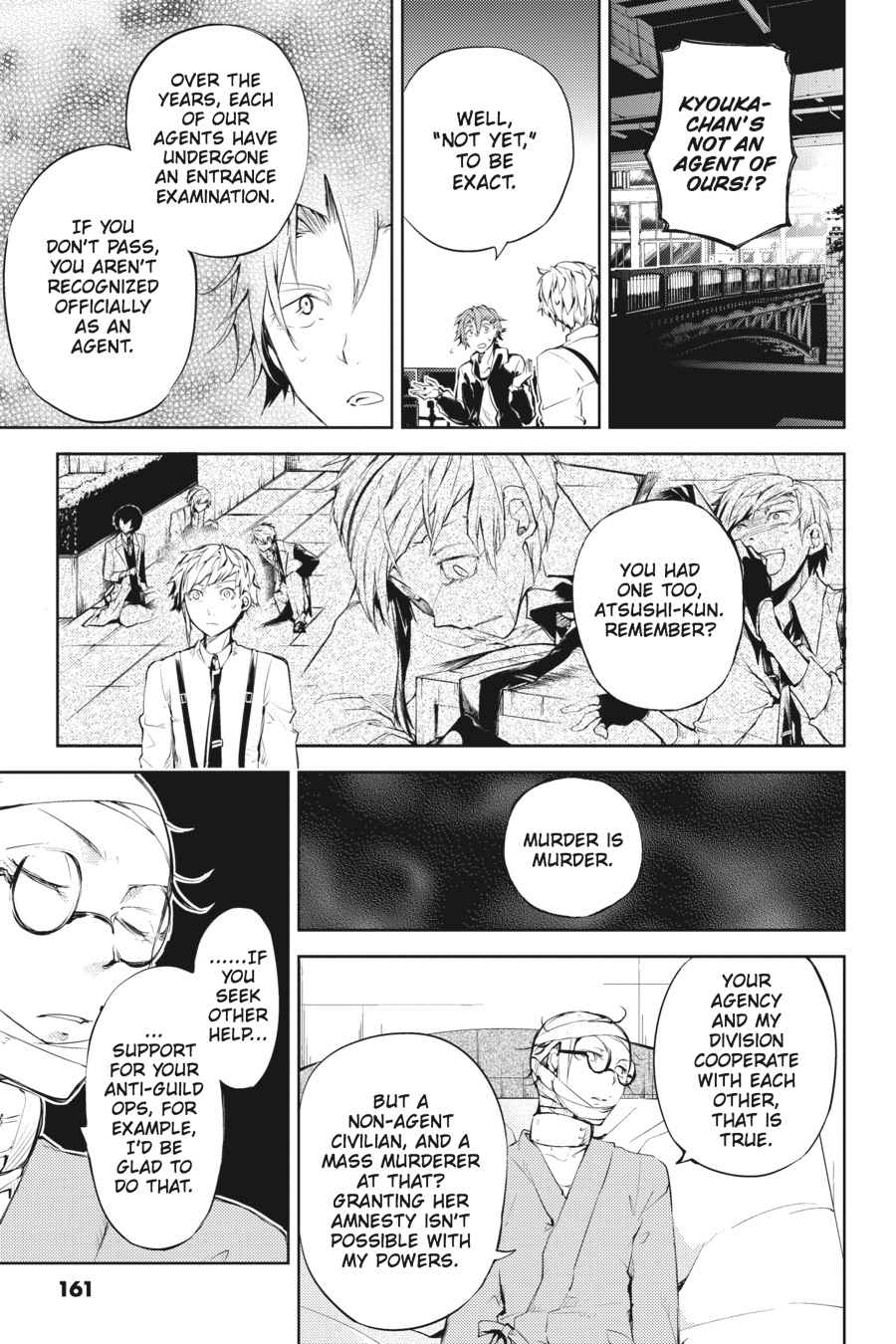 Bungou Stray Dogs Chapter 33 Page 14