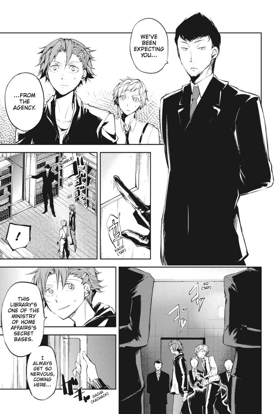Bungou Stray Dogs Chapter 33 Page 18