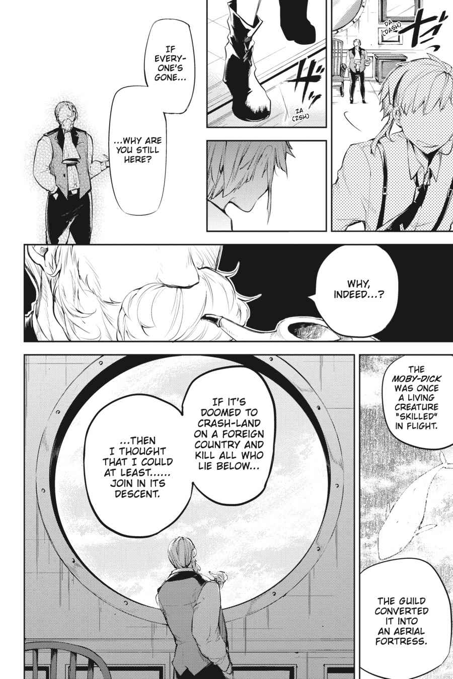 Bungou Stray Dogs Chapter 33 Page 35