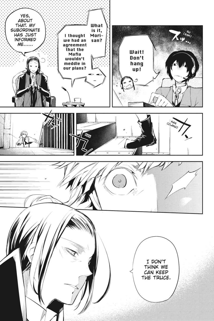 Bungou Stray Dogs Chapter 33 Page 38