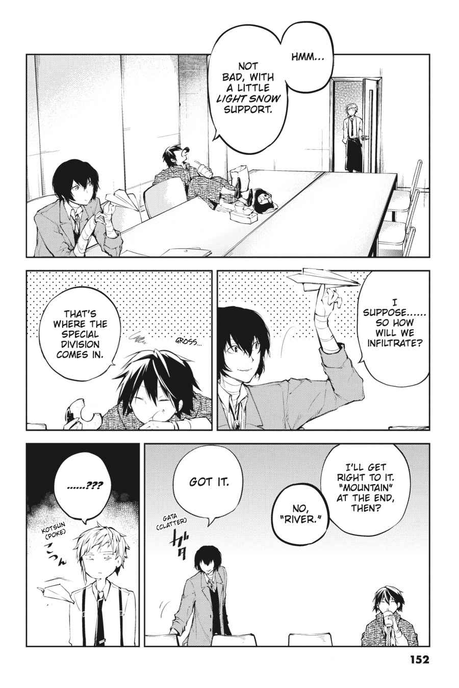 Bungou Stray Dogs Chapter 33 Page 5