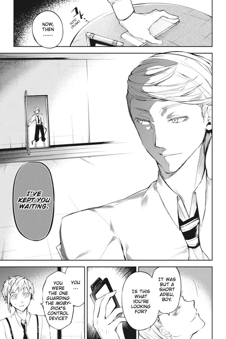 Bungou Stray Dogs Chapter 34 Page 13