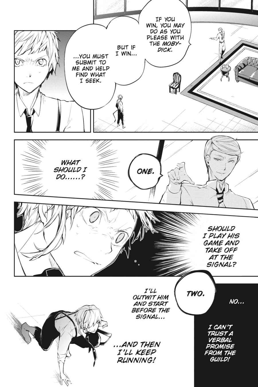 Bungou Stray Dogs Chapter 34 Page 16