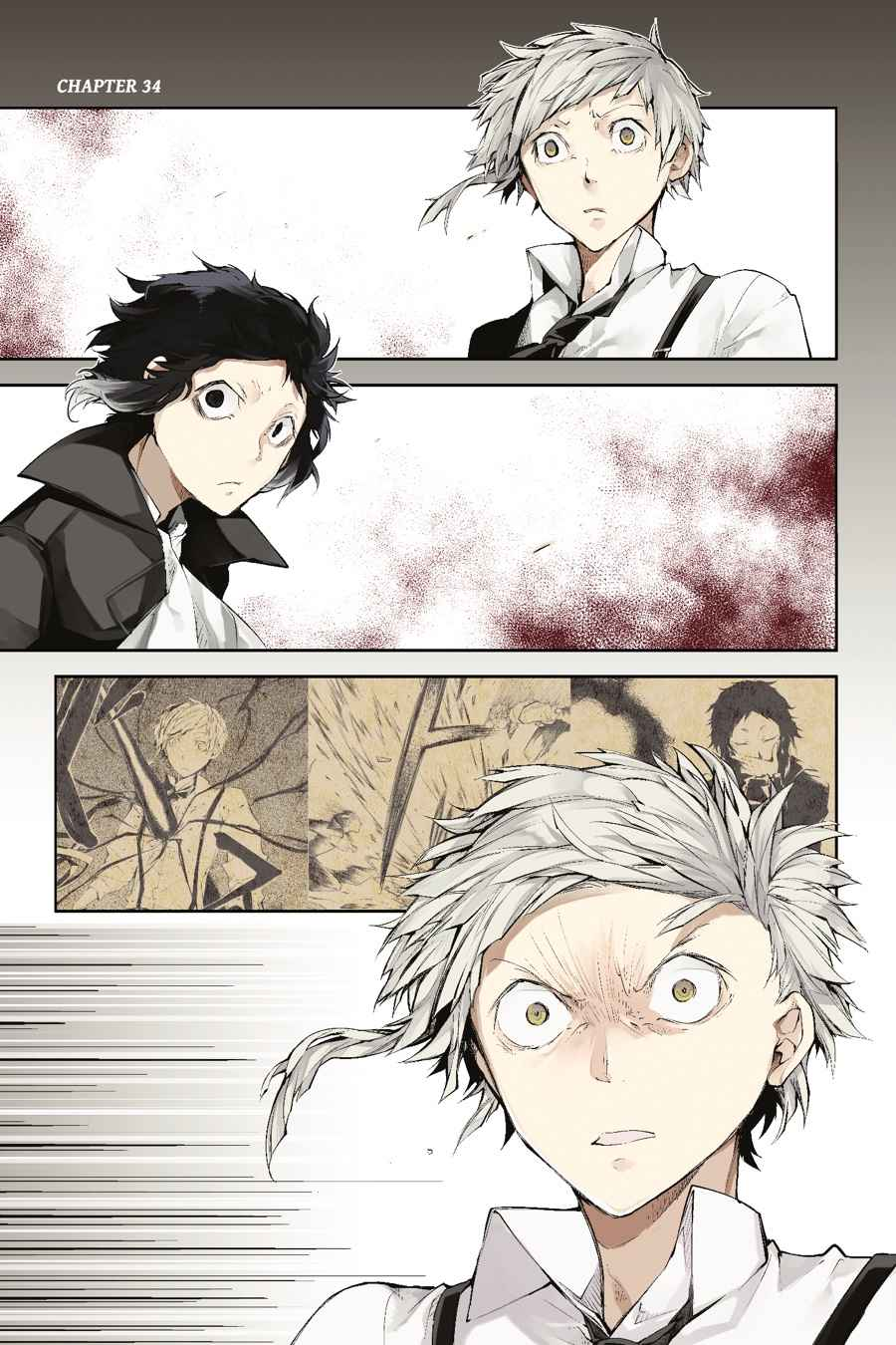 Bungou Stray Dogs Chapter 34 Page 2