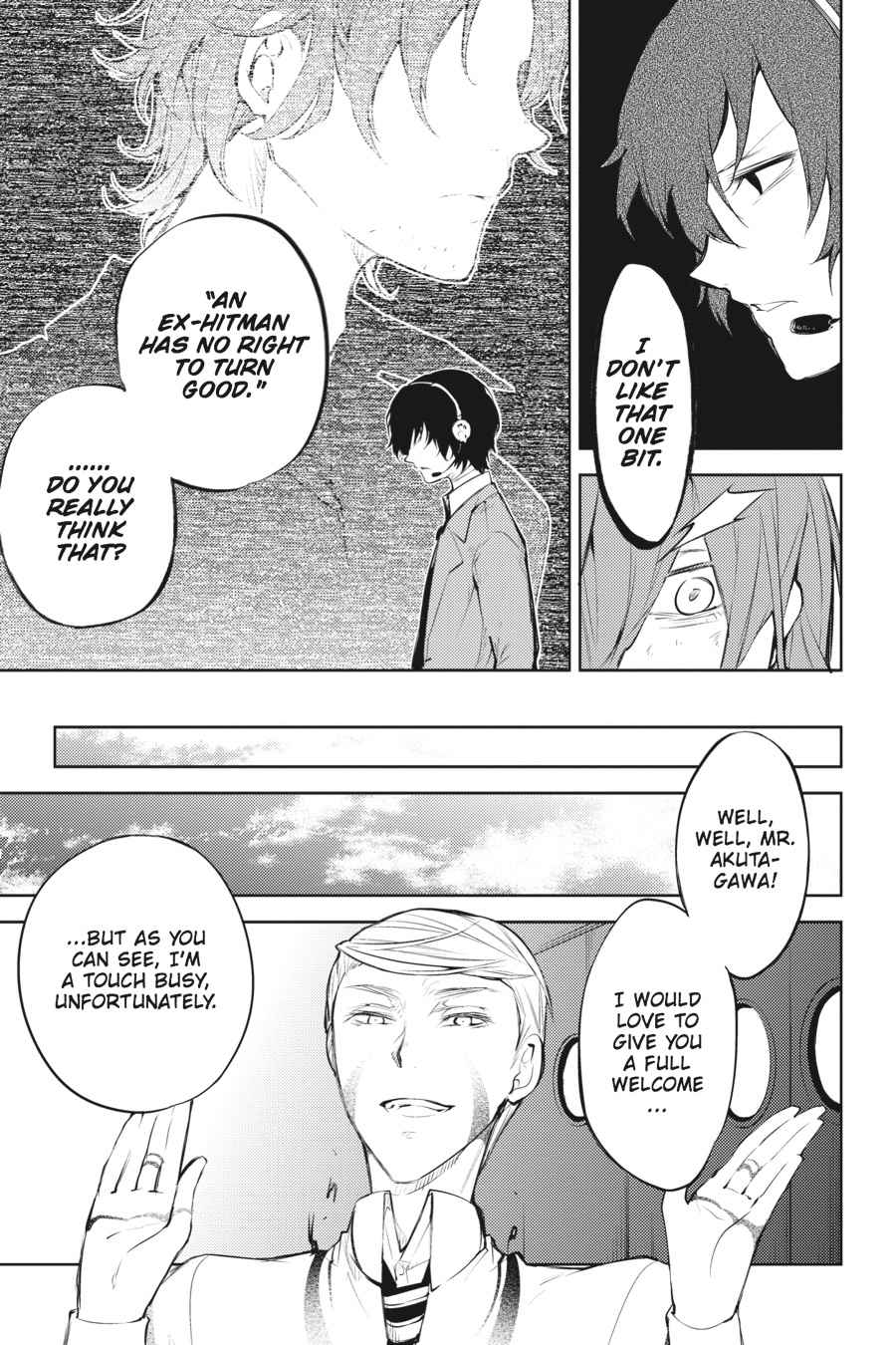 Bungou Stray Dogs Chapter 34 Page 28
