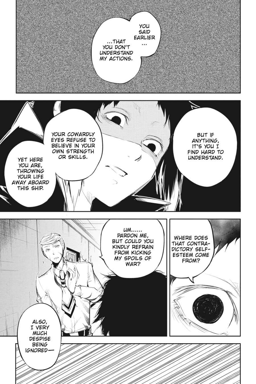 Bungou Stray Dogs Chapter 34 Page 30
