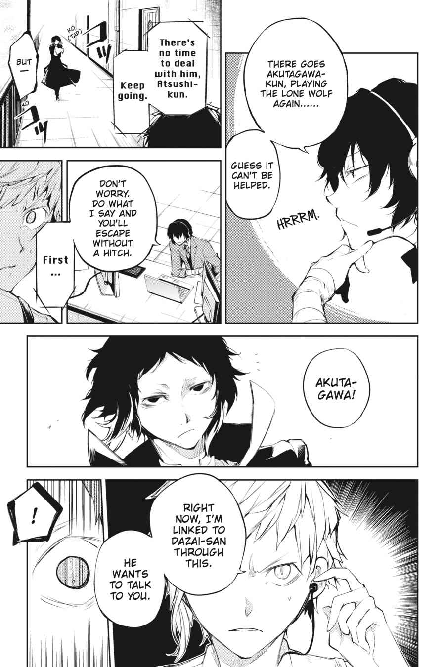 Bungou Stray Dogs Chapter 34 Page 9
