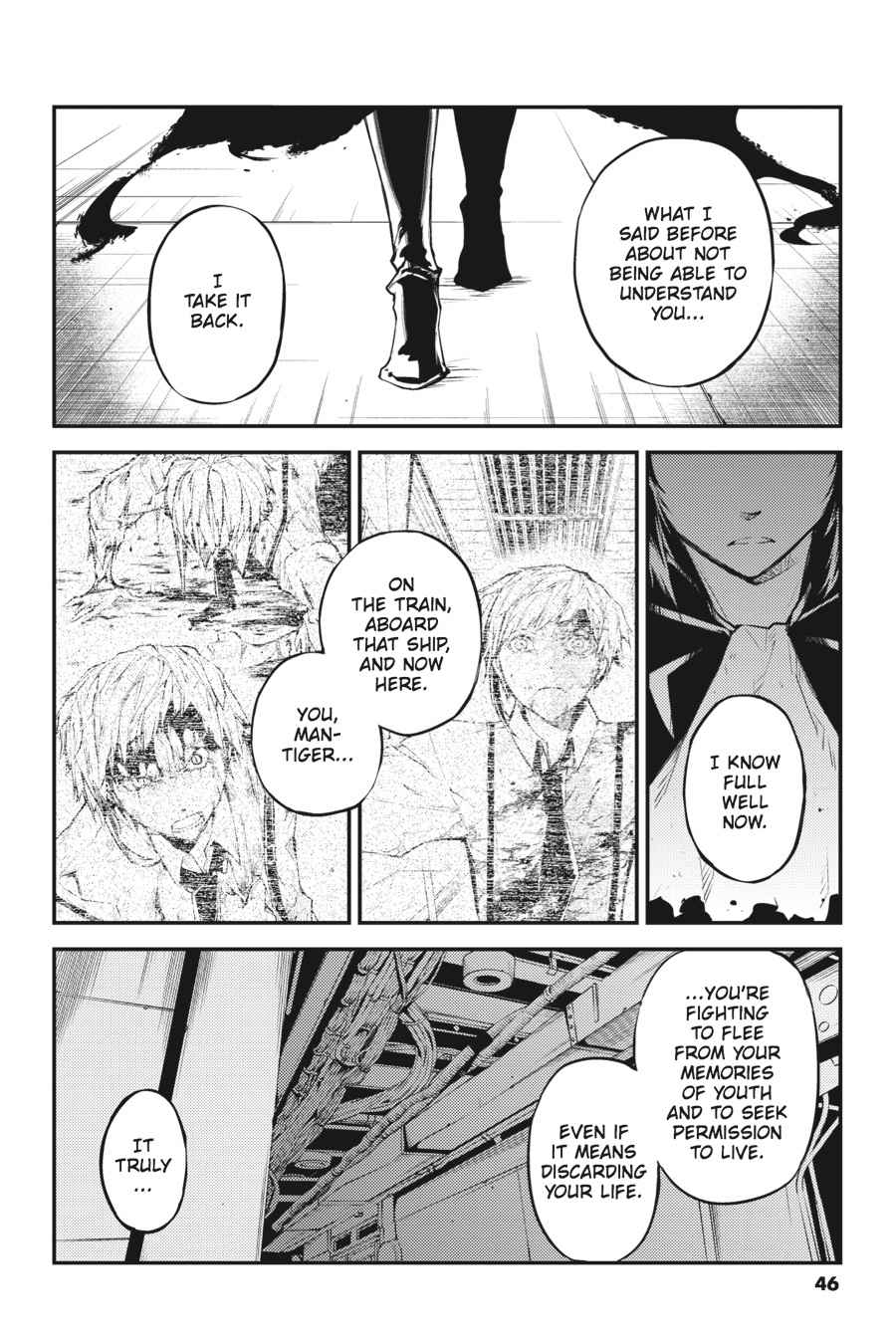 Bungou Stray Dogs Chapter 35 Page 2