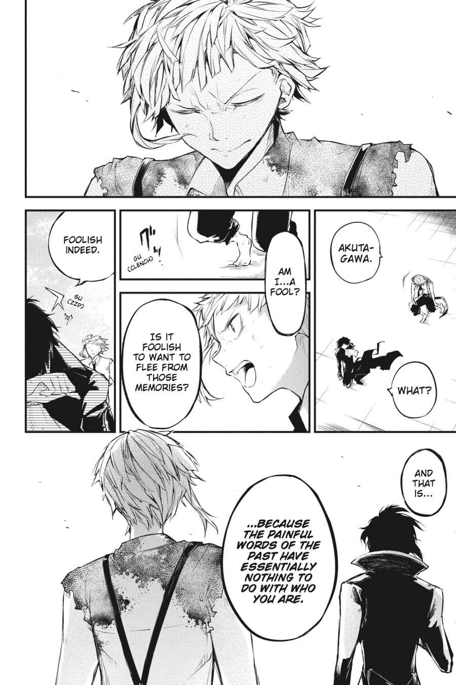 Bungou Stray Dogs Chapter 35 Page 37
