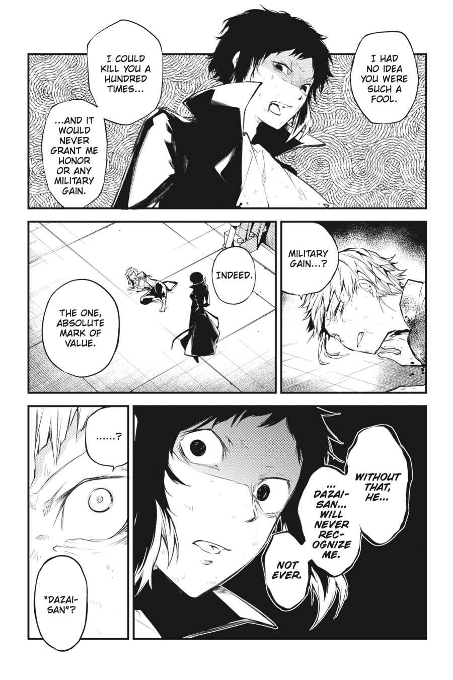 Bungou Stray Dogs Chapter 35 Page 5