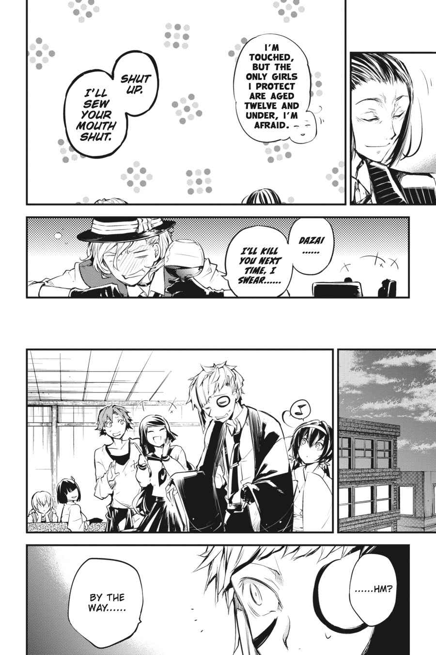 Bungou Stray Dogs Chapter 37 Page 31