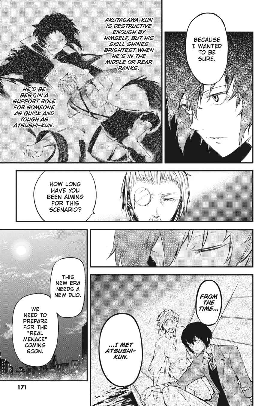 Bungou Stray Dogs Chapter 37 Page 34