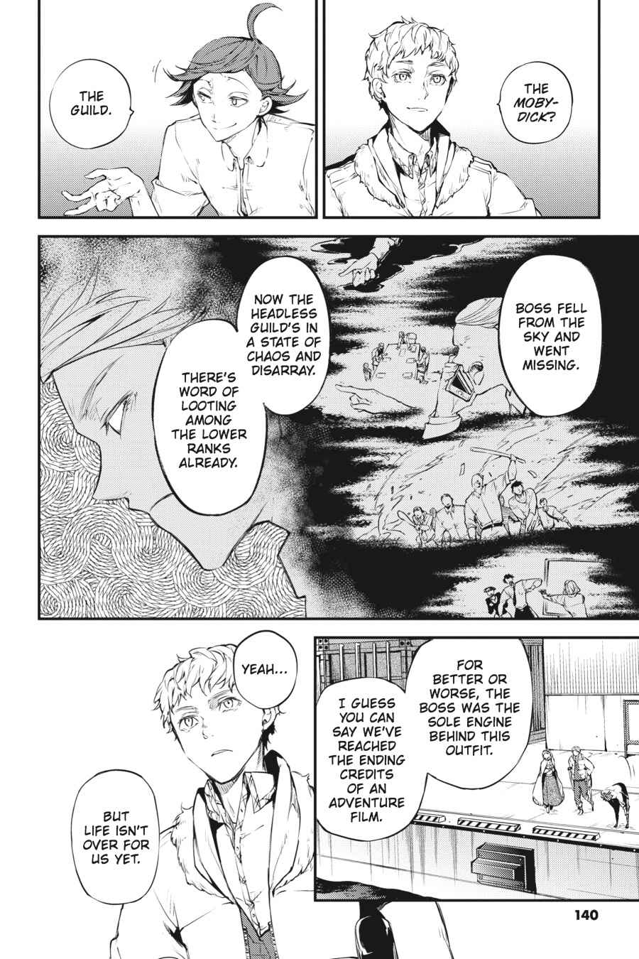 Bungou Stray Dogs Chapter 37 Page 4