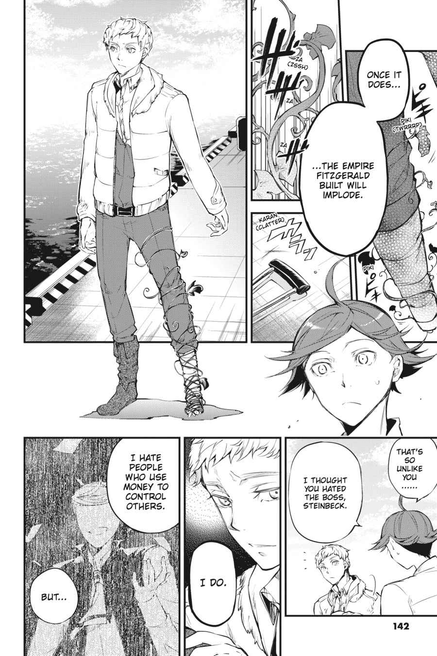 Bungou Stray Dogs Chapter 37 Page 6