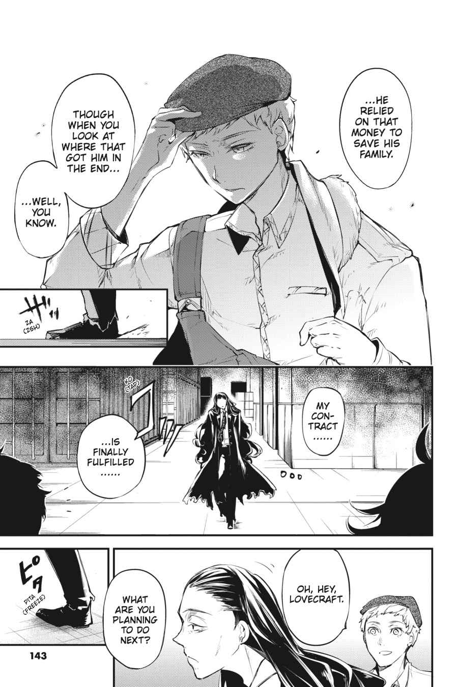 Bungou Stray Dogs Chapter 37 Page 7
