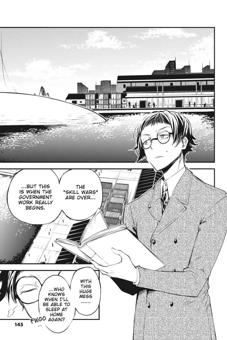 Bungou Stray Dogs Chapter 37 Page 9