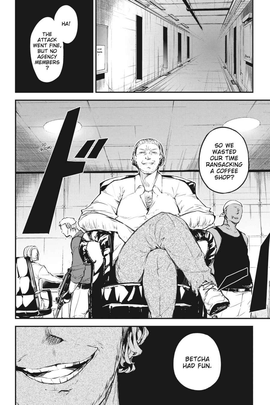 Bungou Stray Dogs Chapter 38 Page 13
