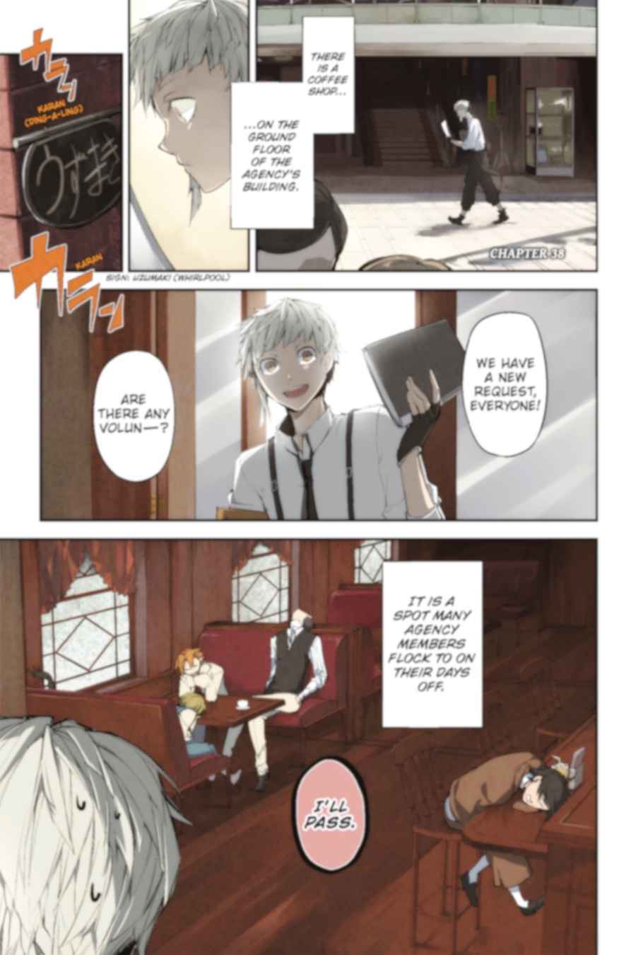 Bungou Stray Dogs Chapter 38 Page 2