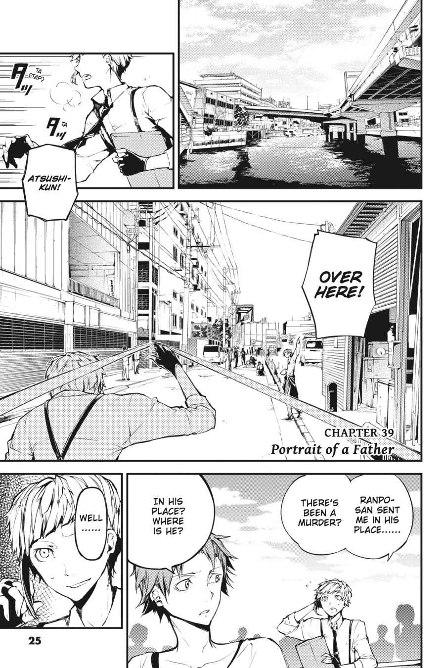 Bungou Stray Dogs Chapter 39 Page 1