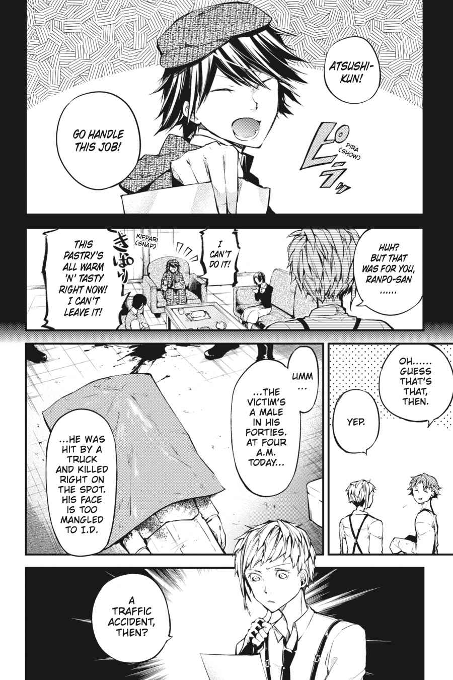 Bungou Stray Dogs Chapter 39 Page 2