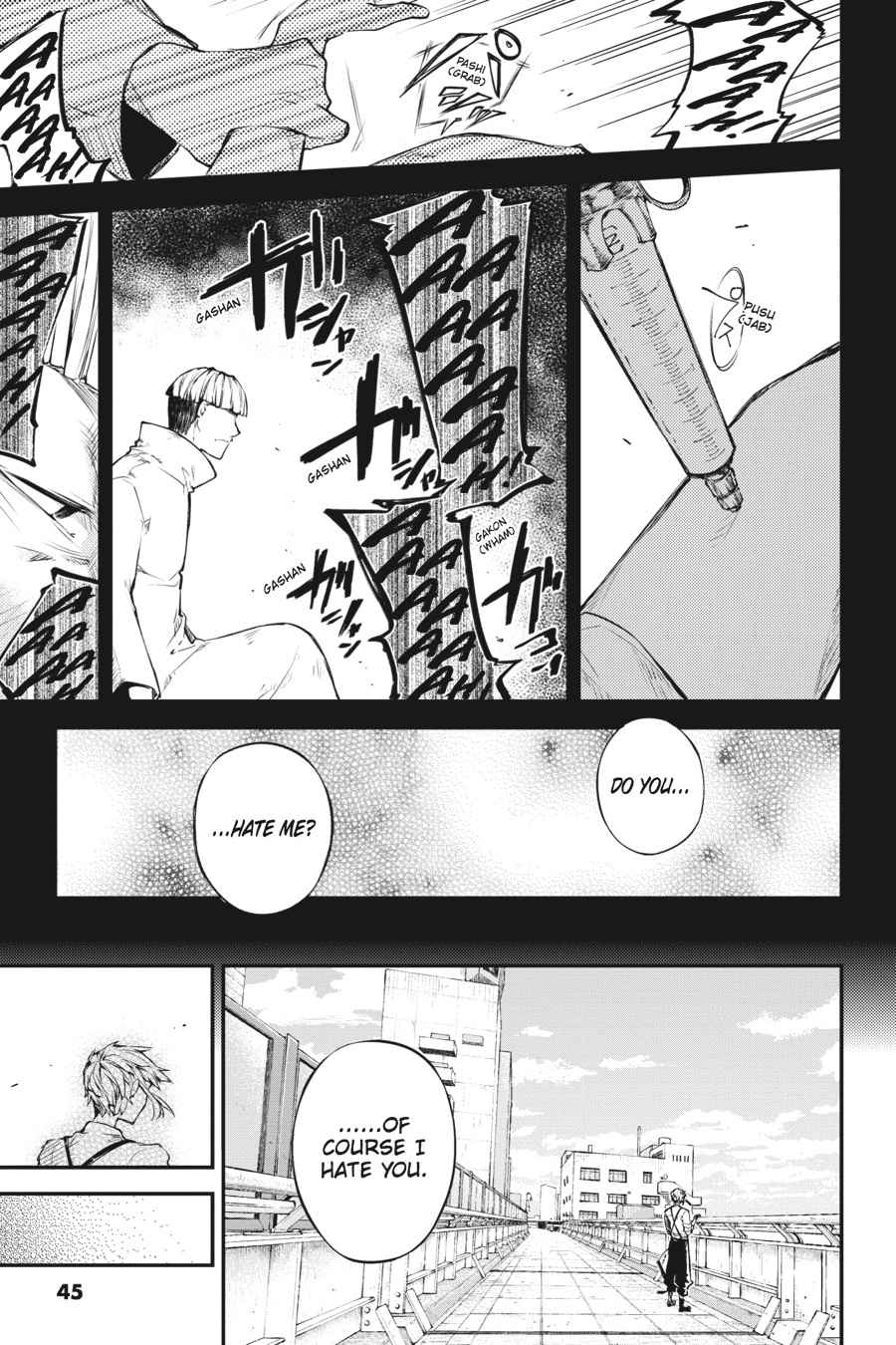 Bungou Stray Dogs Chapter 39 Page 21