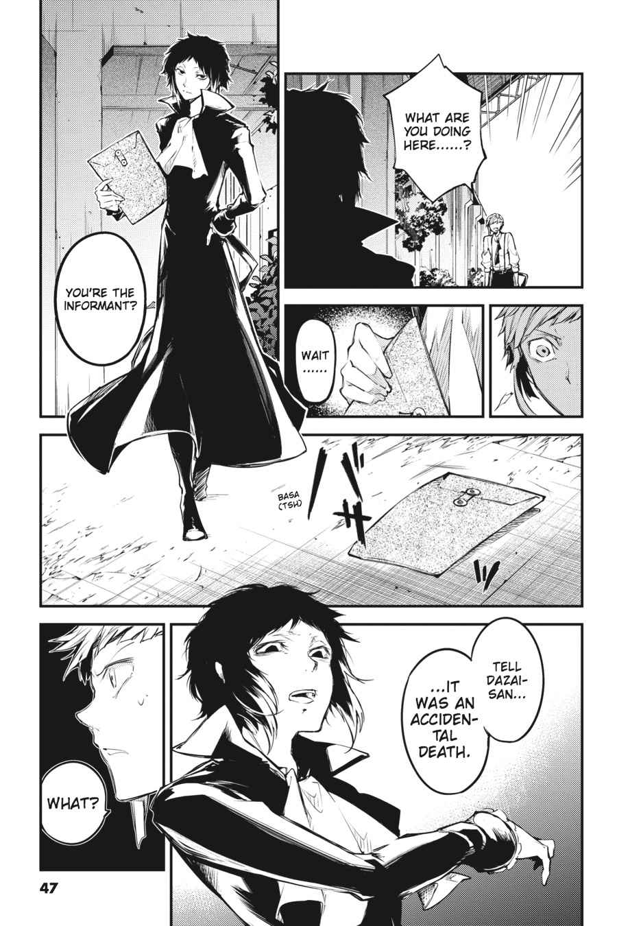 Bungou Stray Dogs Chapter 39 Page 23