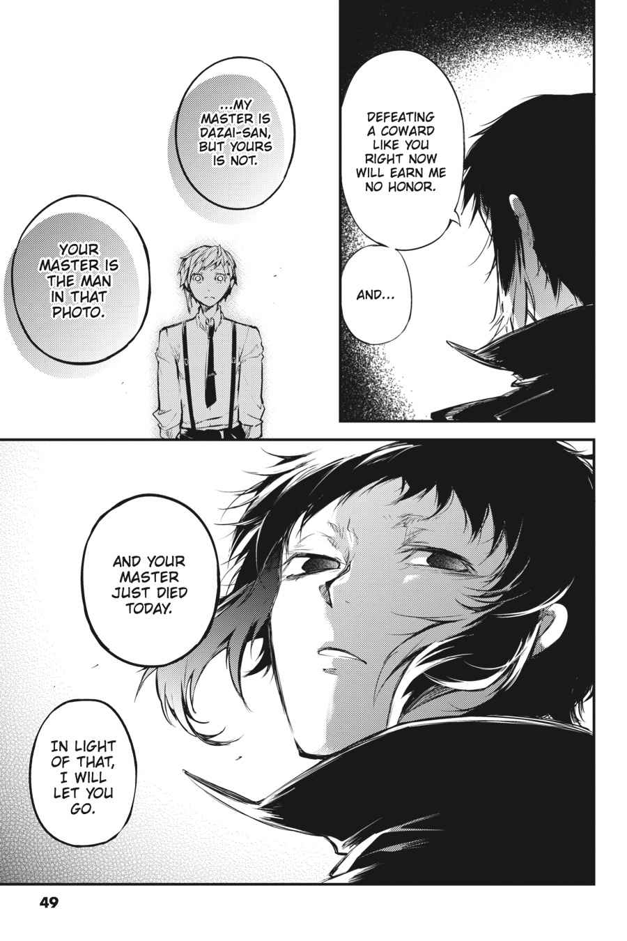 Bungou Stray Dogs Chapter 39 Page 25